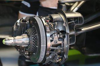 Mercedes F1 AMG W11 brake