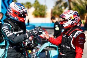 Митч Эванс, Jaguar Racing, Jaguar I-Type 4, и Себастьен Буэми, Nissan e.dams