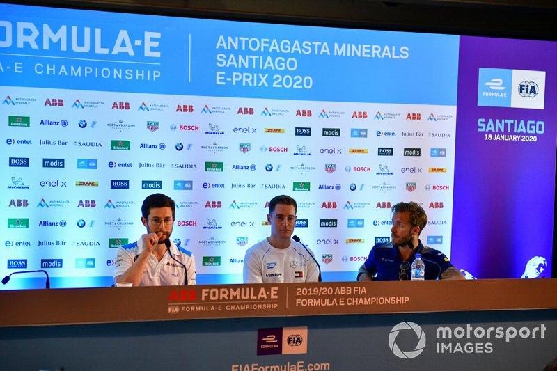 Alexander Sims, BMW I Andretti Motorsports, Stoffel Vandoorne, Mercedes Benz EQ, Sam Bird, Virgin Racing
