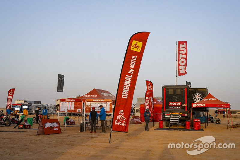Motul Racing Lab area