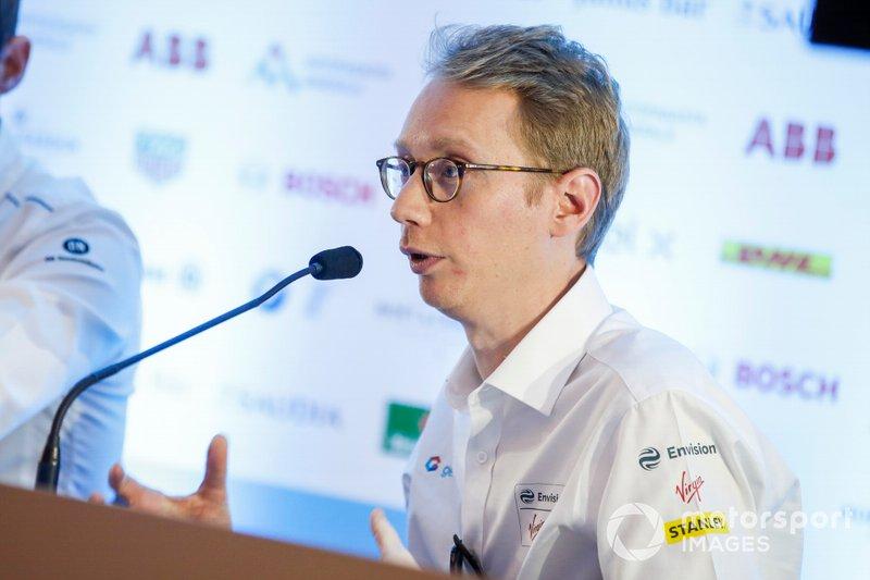 Sylvain Filippi, Managing Director, Envision Virgin Racing