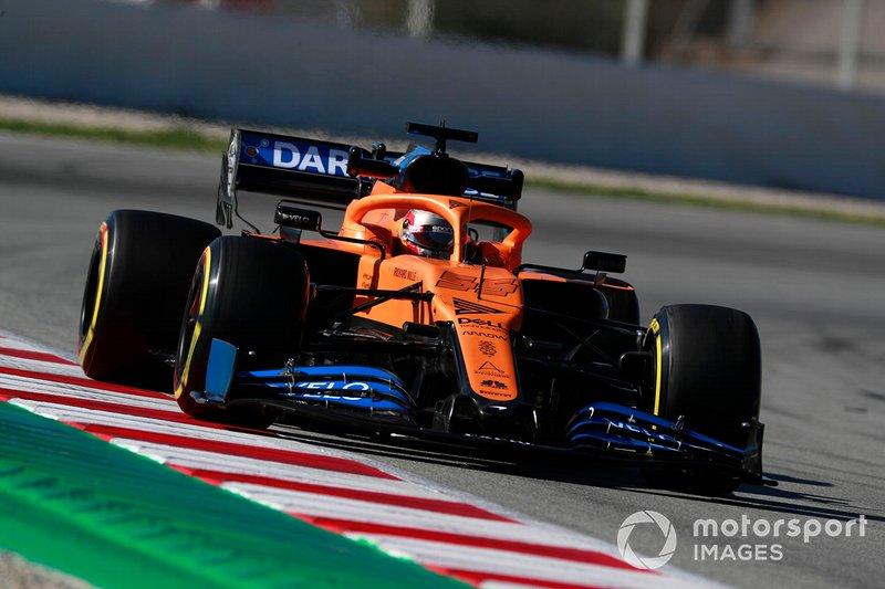 Carlos Sainz y Lando Norris, McLaren MCL35 (2020)