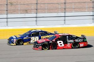 Erik Jones, Joe Gibbs Racing, Toyota Camry Irwin SPEEDBOR, Tyler Reddick, Richard Childress Racing, Chevrolet TAME The BEAST