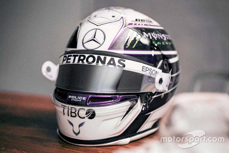 Lewis Hamiltons Helmdesign für die Saison 2020