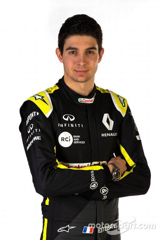 Эстебан Окон, Renault Sport F1 Team