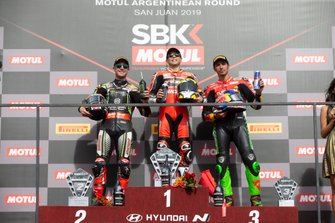 Jonathan Rea, Kawasaki Racing Team, Alvaro Bautista, Aruba.it Racing-Ducati Team, Toprak Razgatlioglu, Turkish Puccetti Racing