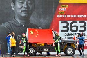 Жуань Цюань и Ван Иронг, Qian'an Jiu Jiang Landsail Racing Club, Chevrolet Hongqi (№363)