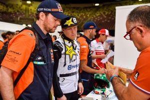 #2 Red Bull KTM Factory Racing: Matthias Walkner, #6 Rockstar Energy Husqvarna Factory Racing: Andrew Short