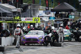 #33 Mercedes-AMG Team Riley Motorsports Mercedes-AMG GT3, GTD: Ben Keating, Jeroen Bleekemolen, Felipe Fraga