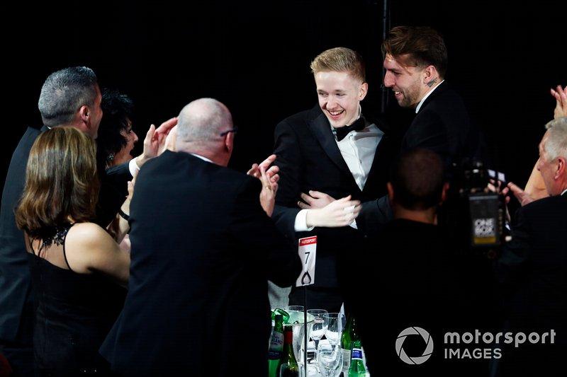 Johnathan Hoggard gana el Premio al Conductor Joven del Año de Aston Martin Autosport BRDC