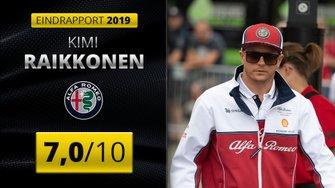 Eindrapport Kimi Raikkonen, Alfa Romeo