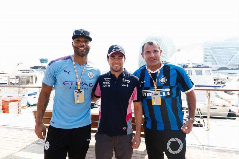 Joleon Lescott, Manchester City, Sergio Perez, Racing Point, y Dejan Stankovic, ex del Inter Milan