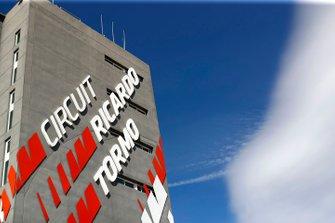 Un bâtiment du Circuit Ricardo Tormo