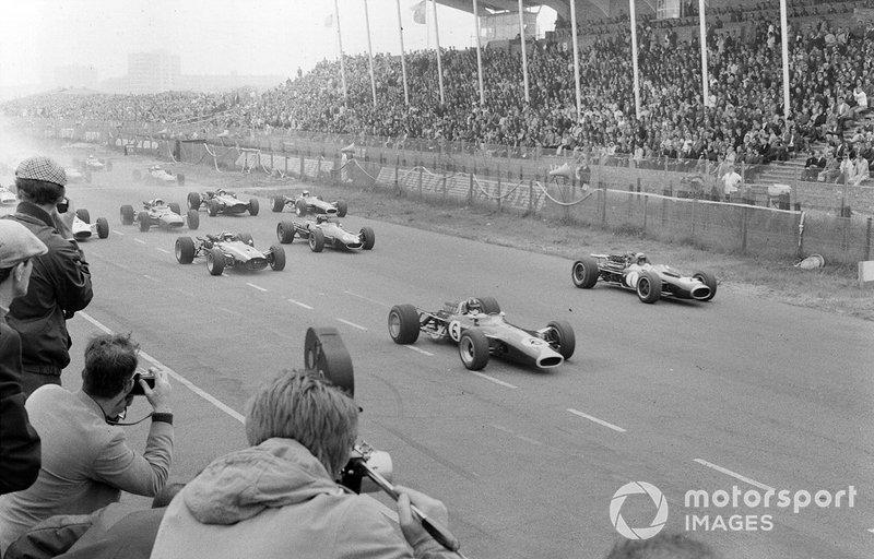 Zandvoort 1967: De Grand Prix begint