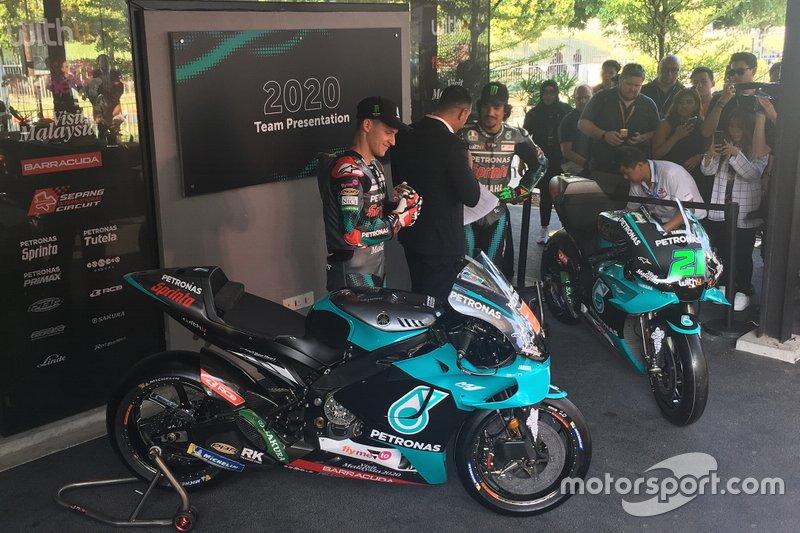 Fabio Quartararo, Franco Morbidelli, Petronas Yamaha SRT