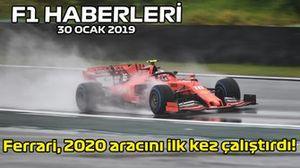 30 Ocak F1 haberleri