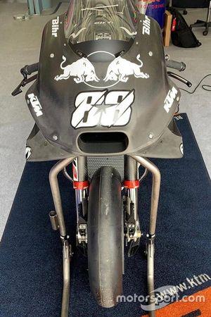 Motor van Miguel Oliveira, Red Bull KTM Tech 3