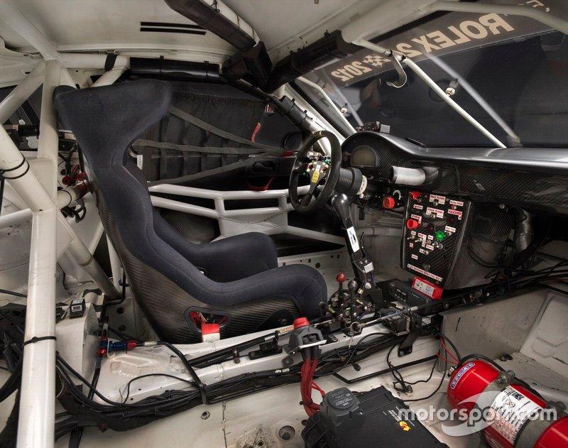 Porsche 997 GT3 Cup Car Cockpit
