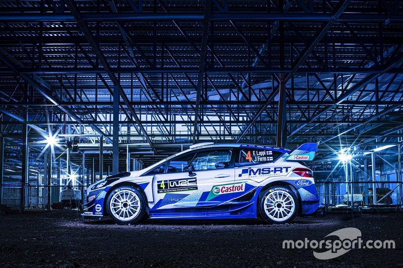 M-Sport Ford WRT. Экипаж на неполном расписании