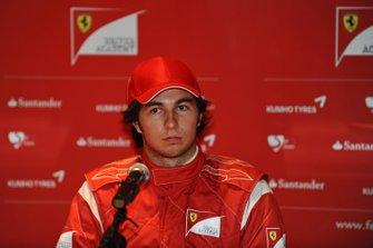 Sergio Perez, Ferrari, ai test Ferrari di Fiorano del 2011