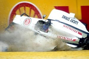 Accidente de Jacques Villeneuve, BAR Honda 003