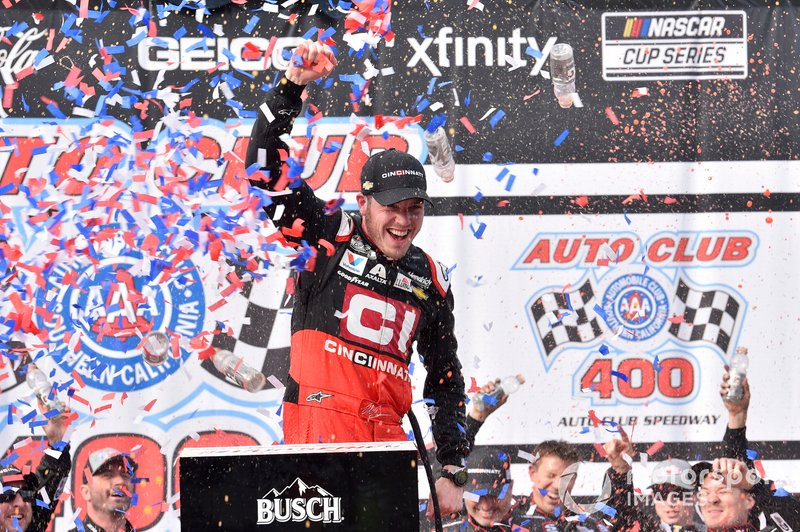 10. Alex Bowman - 1 win - 6th in points