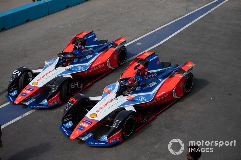 Jérôme d'Ambrosio, Mahindra Racing, M6Electro, Pascal Wehrlein, Mahindra Racing, M6Electro