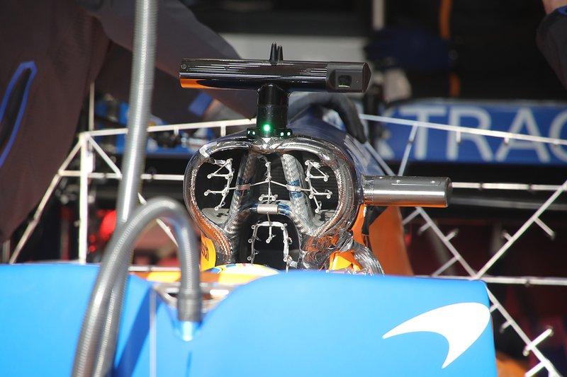 Detalles del McLaren MCL35