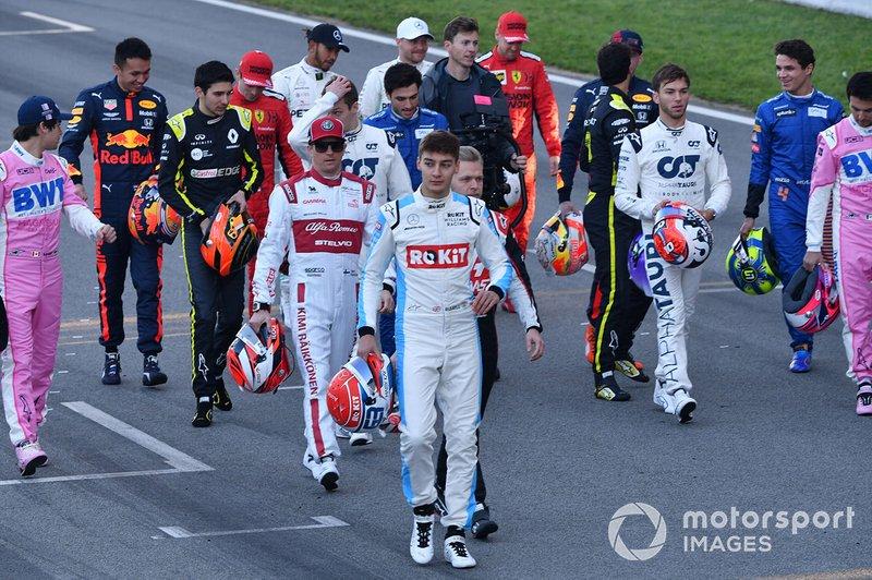 Die Formel-1-Fahrer 2020