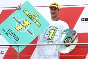 Podio: ganador de la carrera Lorenzo Dalla Porta, Leopard Racing