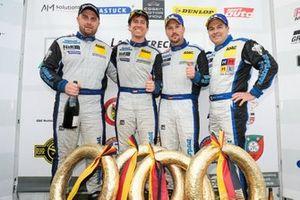 #123 Porsche 911 GT3 Cup: Marcel Hoppe, Moritz Kranz, Mark J. Thomas, Michael Rebhan