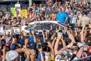 1. Denny Hamlin, Joe Gibbs Racing, Toyota Camry FedEx Ground