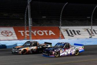 Todd Gilliland, Kyle Busch Motorsports, Toyota Tundra JBL/SiriusXM, Brett Moffitt, GMS Racing, Chevrolet Silverado Plan B Sales