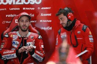 Andrea Dovizioso, Ducati Team, mit Alberto Giribuola