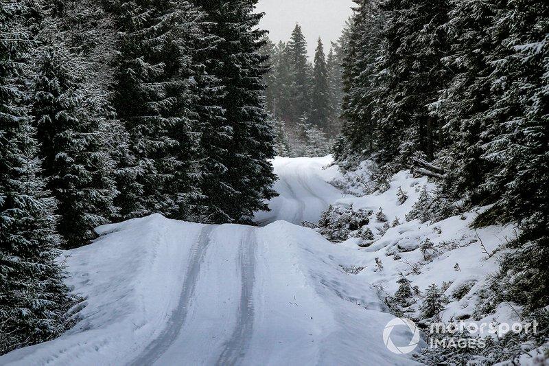 Las condiciones de la carretera