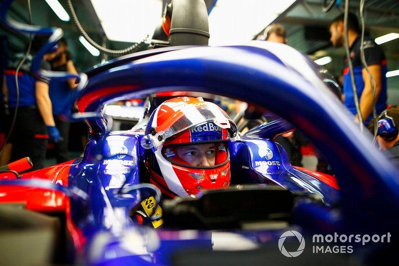 Schuberth's F1 customers: Daniil Kvyat, Toro Rosso