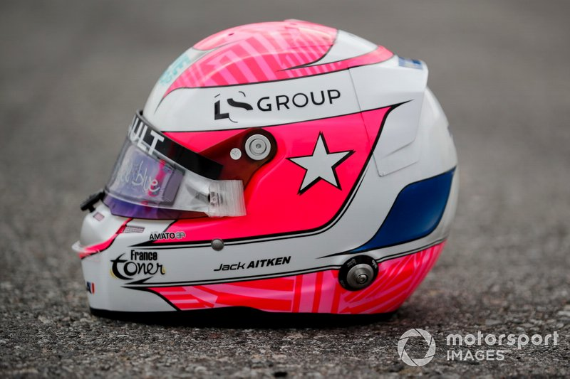 Tribute Helmet worn by FIA Formula 2 driver Jack Aitken, Campos Racing