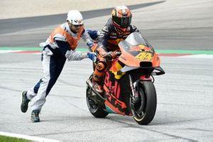 L'abandon de Pol Espargaro, Red Bull KTM Factory Racing