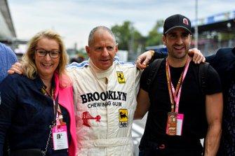 Jody Scheckter et son fils Tomas Scheckter
