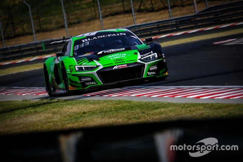 #17 Belgian Audi Club Team WRT Audi R8 LMS GT3: Shae Davies, Tom Gamble