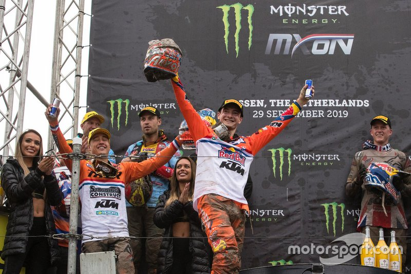 Jeffrey Herlings e Glenn Coldenhoff, TeamNL