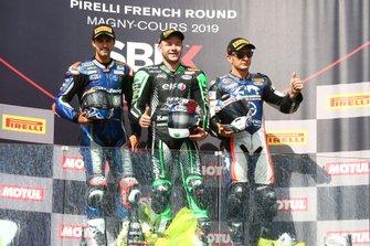 Isaac Vinales, Kallio Racing, Lucas Mahias, Kawasaki Puccetti Racing, Ayrton Badovini, Pedercini Racing