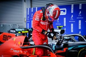 Le vainqueur Charles Leclerc, Ferrari