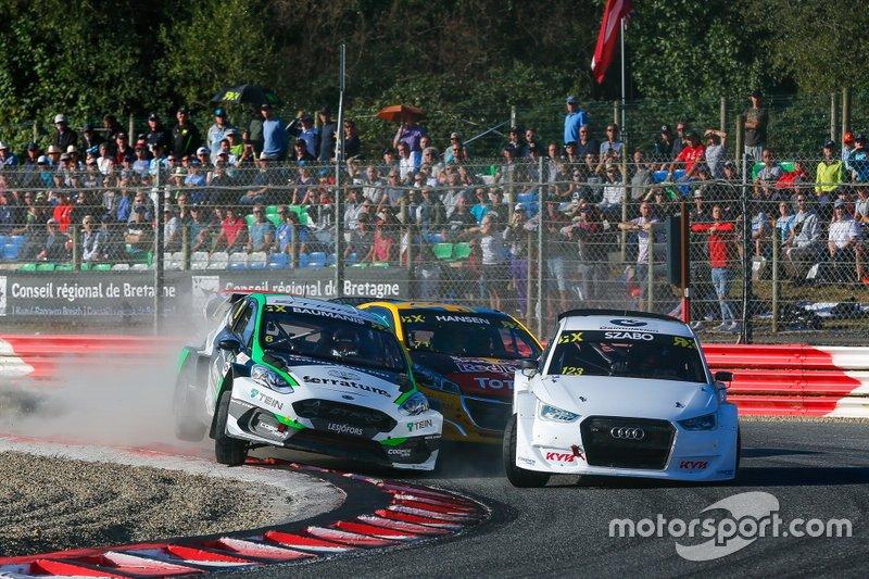 Янис Бауманис, STARD, Ford Fiesta ST MK8, и Кристиан Жабо, EKS Sport, Audi S1