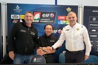 Luga Greghi e Osamu Ogoto, Geo, con Simone Folgori, ELF CIV