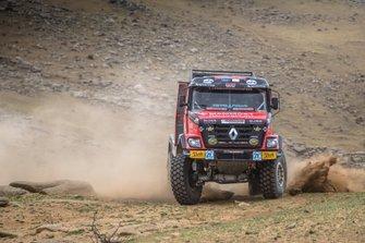 Martin van den Brink, Wouter de Graaff, Mammoet Rallysport, Renault CBH 385 (№301)