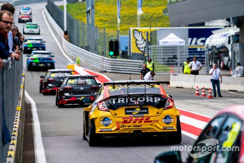 Tom Coronel, Boutsen Ginion Racing Honda Civic Type R
