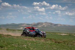 Denis Krotov, Dmytro Tsyro, MSK Rally Team, MINI John Cooper Works Rally