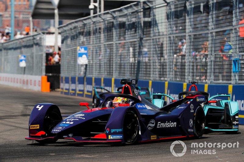 Robin Frijns, Envision Virgin Racing, Audi e-tron FE05, Mitch Evans, Panasonic Jaguar Racing, Jaguar I-Type 3