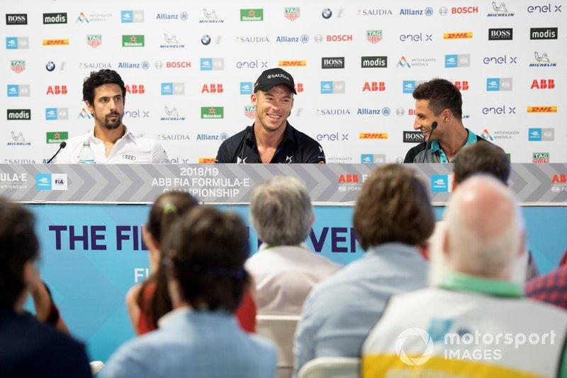 Lucas Di Grassi, Audi Sport ABT Schaeffler, Andre Lotterer, DS TECHEETAH, Mitch Evans, Panasonic Jaguar Racing in the press conference